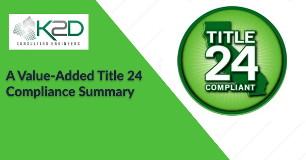 Value added Title 24 Compliance summary